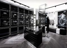 Karl Lagerfeld store by Plajer & Franz Studio and Laird + Partners, Paris Updated store design Karl Lagerfeld, Cash Counter Design, Shop Display Stands, Retail Concepts, Shop House Plans, Retail Shop, Retail Design, Stores, Store Design