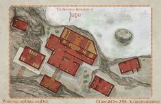 The Mountain Monastery of Jutai : dndmaps