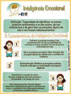 Inteligência Emocional #inteligênciaEmocional #infográfico #Psicologia