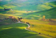 Итальянские пейзажи, которые больше похожи на творение рук художника, чем на фотографию