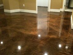 Basement Floor..... Someone come do this to my floors!!!!!