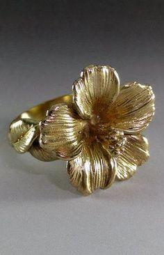 Hibiscus Flower Ring