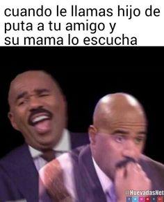 Ese momento incómodo y de alta tensión con la mamá de tu amigo xd - Meme Para más imágenes graciosas y memes en Español visita: https://www.Huevadas.net #meme #humor #chistes #viral #amor #huevadasnet
