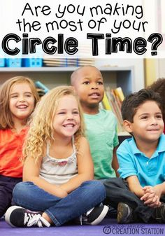Use literacy charts to teach smarter not harder. How to make the most of circle time. Terrific ideas for a fast-paced circle time that includes lots of learning and fun!