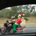 Santa on Bike!