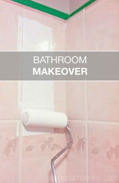 Wow Say Goodbye To That Outdated Bathroom How To Update An Ugly Bathroom For