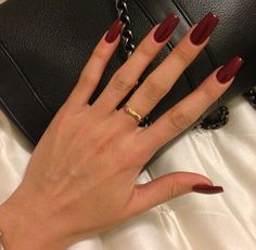 Perfect winter manicure