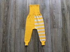 Baby Pants Trousers Leggings Clothing Knit Wool Warm Slim fit Boy Girl Milk white Yellow striped by CloudberryFactory on Etsy https://www.etsy.com/listing/495568219/baby-pants-trousers-leggings-clothing