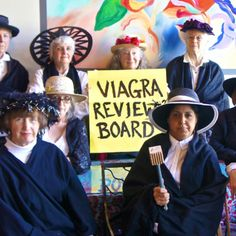 Today in Palo Alto, California, members of the Raging Grannies Action League said that men who want drugs such as Viagra to treat impotence should be required to have strict testing before receiving. Political Pictures, Review Board, Reproductive Rights, Pro Choice, Lol, Human Rights, Women's Rights, Equal Rights, Social Justice