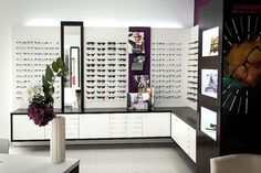 Shop Interior Design, Store Design, Web Design, Optometry Office, Optical Shop, Store Interiors, Layout, Gallery Wall, Shop Ideas