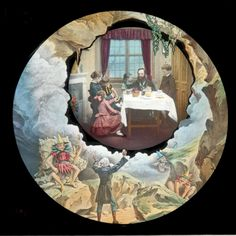 One of the various inserts in the lantern narrative of Dickens's 'Gabriel Grub.'