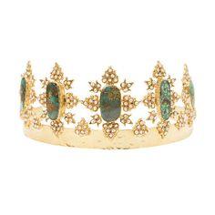 The Akila Crown Gold || Christie Nicolaides