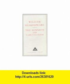 Sonnets (Everymans Library) (9780641685675) William Shakespeare, William Burto, Helen Vendler , ISBN-10: 064168567X  , ISBN-13: 978-0641685675 ,  , tutorials , pdf , ebook , torrent , downloads , rapidshare , filesonic , hotfile , megaupload , fileserve