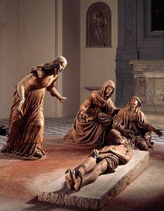 Guido Mazzoni (c. 1450-1518) Compianto sul Cristo morto, c. 1492 Chiesa di Sant'Anna dei Lombardi, Napoli