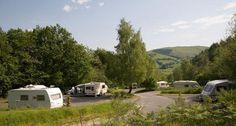Gwern-y-Bwlch Caravan Club Site.