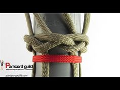 How to start a braid using a turk's head knot - YouTube
