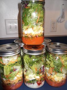 Farm Recipe: Salad in a Jar