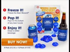 Video Review of the Beer Blizzard! Keeps Beer Cold!