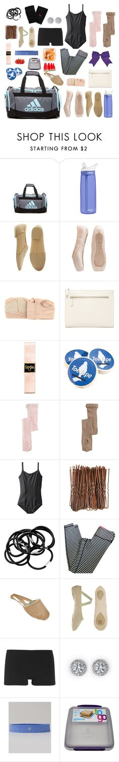"""In my dance bag"" by izelaixchel ❤ liked on Polyvore featuring adidas, CamelBak, Bloch, Capezio, Forever 21, Chassè, H&M, lululemon, Ballet Beautiful and women's clothing"