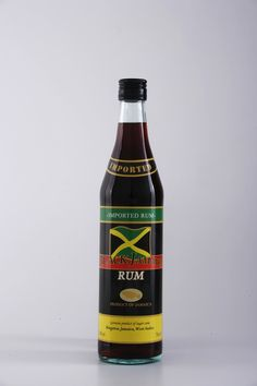 Rum Black Jamaica 3 Anni from Jamaica Jamaica West Indies, Rum, Design Packaging, Bacchus, Hot Shots, Cocktails, Drinks, Bottle Design, Bartender