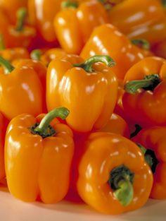 Oranje paprika's