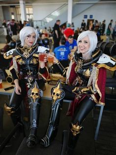 Cosplay Pictures Of Today - FunLoger Warhammer Online, Warhammer 40k Memes, Warhammer 40000, 40k Sisters Of Battle, Fantasy Battle, Steampunk, Space Marine, Best Cosplay, Cosplay Girls
