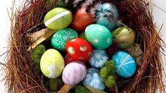Here's how to make your own colorful Easter eggs using a variety of dye techniques.