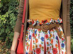 Tutoriel DIY: Coudre une jupe froncée via DaWanda.com