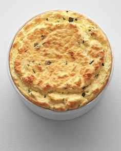 A lighter, fresher version of the French classic: Herbed Ricotta Souffle, Wholeliving.com