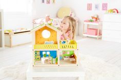 La mia prima casa delle bambole  http://www.borgione.it/Ambienti/Casa-con-arredi/La-mia-prima-casa-delle-bambole/ca_27177.html