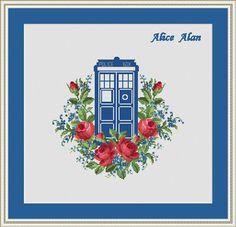Cross Stitch Pattern TARDIS