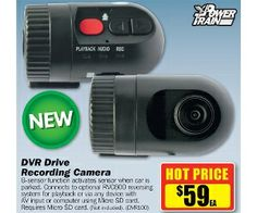 Power Train Dvr Drive Recording Camera