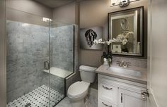 Small bathroom 38 intimate and modern rooms - Shower Remodeling