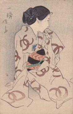 Not dated - Itō Shinsui - A Moment