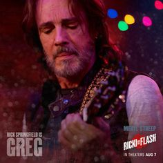 Rick Springfield takes the stage with Meryl Streep in Ricki and the Flash!