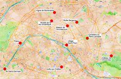 10 idées de balade dans des coins tranquilles de #Paris. #France