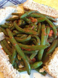 L'incapace in Cucina: Fagiolini al Pomodoro