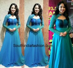 Mia George in Long Gown - Designer Dresses Couture Indian Fashion Dresses, Indian Gowns Dresses, Dress Indian Style, Indian Designer Outfits, Designer Dresses, India Fashion, Indian Skirt, Fashion Outfits, Bride Dresses