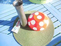 mushrooms, crafts, gardening