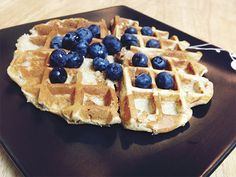 Oat Flour Waffles - 21 Day Fix Approved - Dana Nicole Fitness