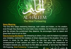 Allah calls Himself An-Naseer— The Helper— on five occasions in the Quran. An-Naseer is the one who helps and supports His slaves. He is the One who backs, strengthens, defends, and aids the believers, and there is no helper but Him! The Helper, the One who supports and defends Naseer comes from the root noon-saad-raa, which pointsto four main meanings. …