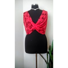 Red Floral Lace top Bridal Lace Wrap 4 options- shawl Twisted shrug... (54 BGN) ❤ liked on Polyvore featuring etsy and integritytt