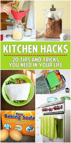 These kitchen hacks will change the way you see your kitchen!