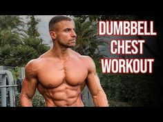 Full Chest Workout Using ONLY Dumbbells - YouTube