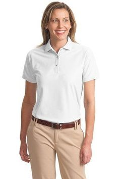 Port Authority Women`s Silk Touch Sport Shirt. L500 $11.99