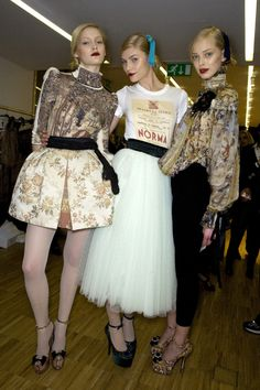 Backstage  D&G Fall 2009