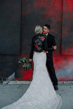 rock and roll wedding - Lindsey Morgan Photography Wedding Gallery, Wedding Pics, Wedding Events, Dream Wedding, Tent Wedding, Rocker Wedding, Wedding Ideas, Glamorous Wedding Inspiration, Motorcycle Wedding