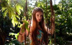 НАСТЯ джунгли. Фотосессия на Самуи в стиле хиппи