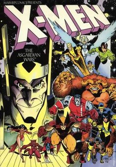 Uncanny X-men Asgardian Wars by Chris Claremont & Art Adams  Auction your comics on www.comicbazaar.co.uk