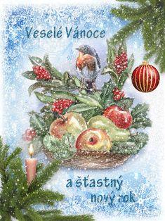 Vánoční přání třpyt a animace 1 | vánoční blog Advent, Animation, Blog, Christmas, Painting, Art, Winter, Yule, Winter Time